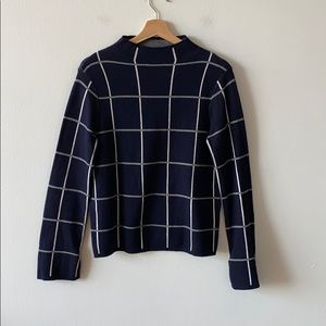 Warehouse Mock Neck Sweater